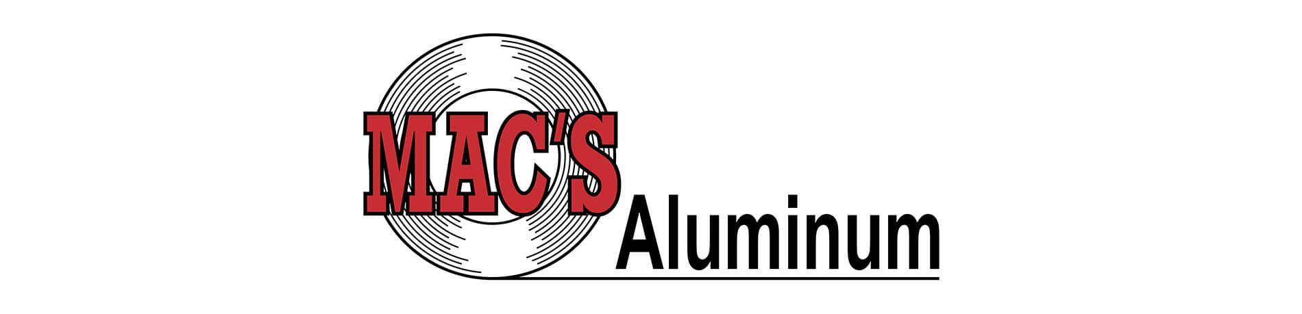 Mac's Aluminum logo